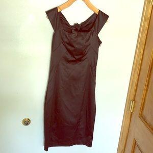 Elegant limited black cocktail dress